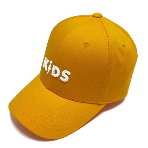 COTTON LOGO BALL CAP - YELLOW