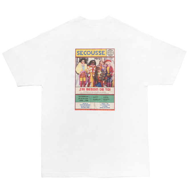 BARBIE POSTER T-SHIRTS (WHITE)