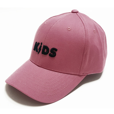 COTTON LOGO BALL CAP - PINK