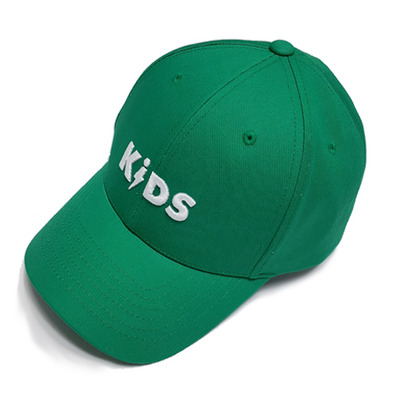 COTTON LOGO BALL CAP - GREEN