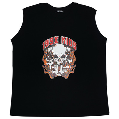 SKULL LOGO SLEEVELESS T-SHIRTS