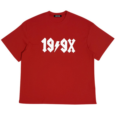 HOMMAGE LOGO T-SHIRTS (RED)