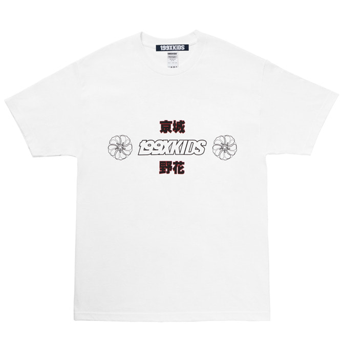 SHARON TYPO GRAPHIC T-SHIRTS (WHITE)
