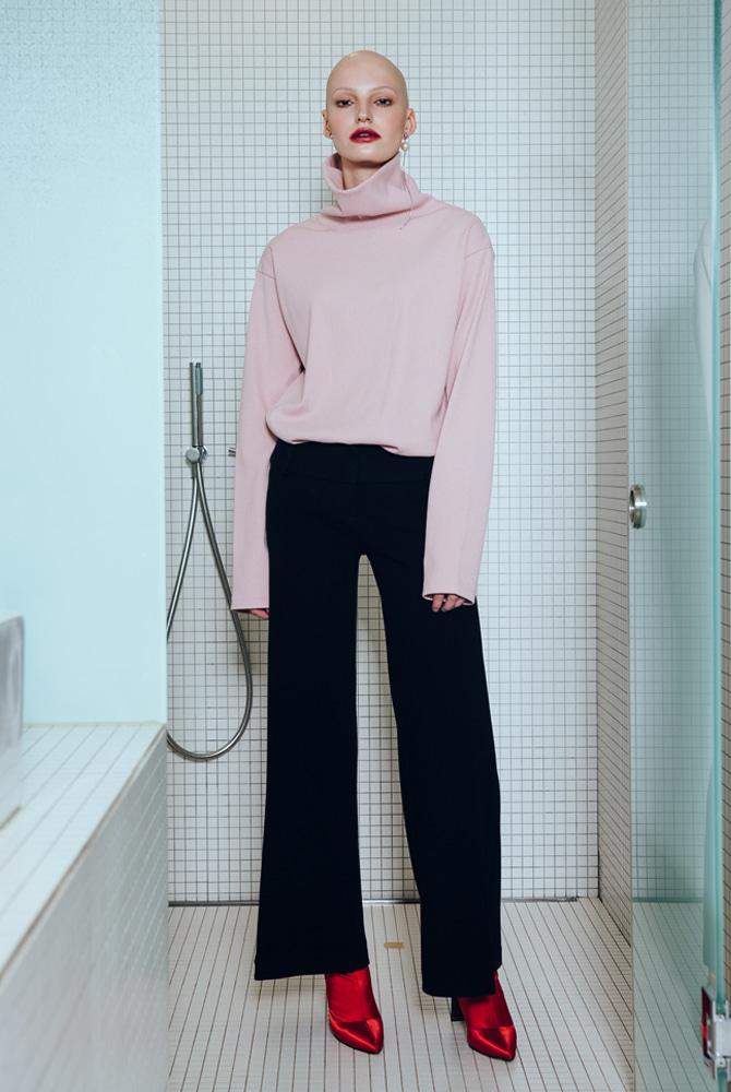 TURTLENECK SHIRTS (PINK)