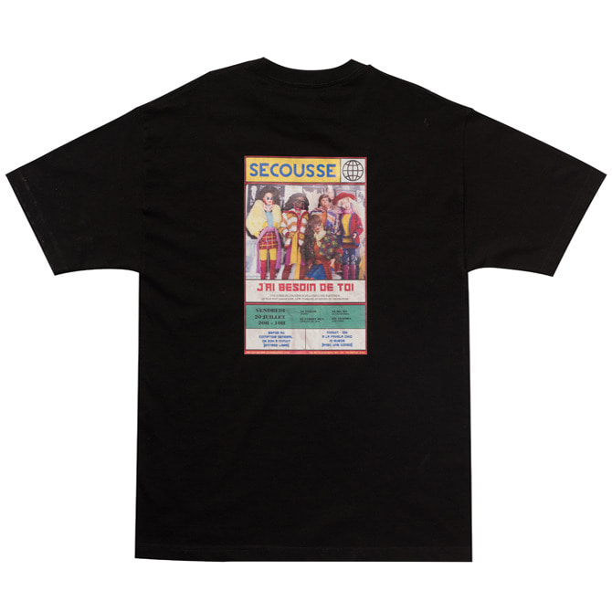 BARBIE POSTER T-SHIRTS (BLACK)
